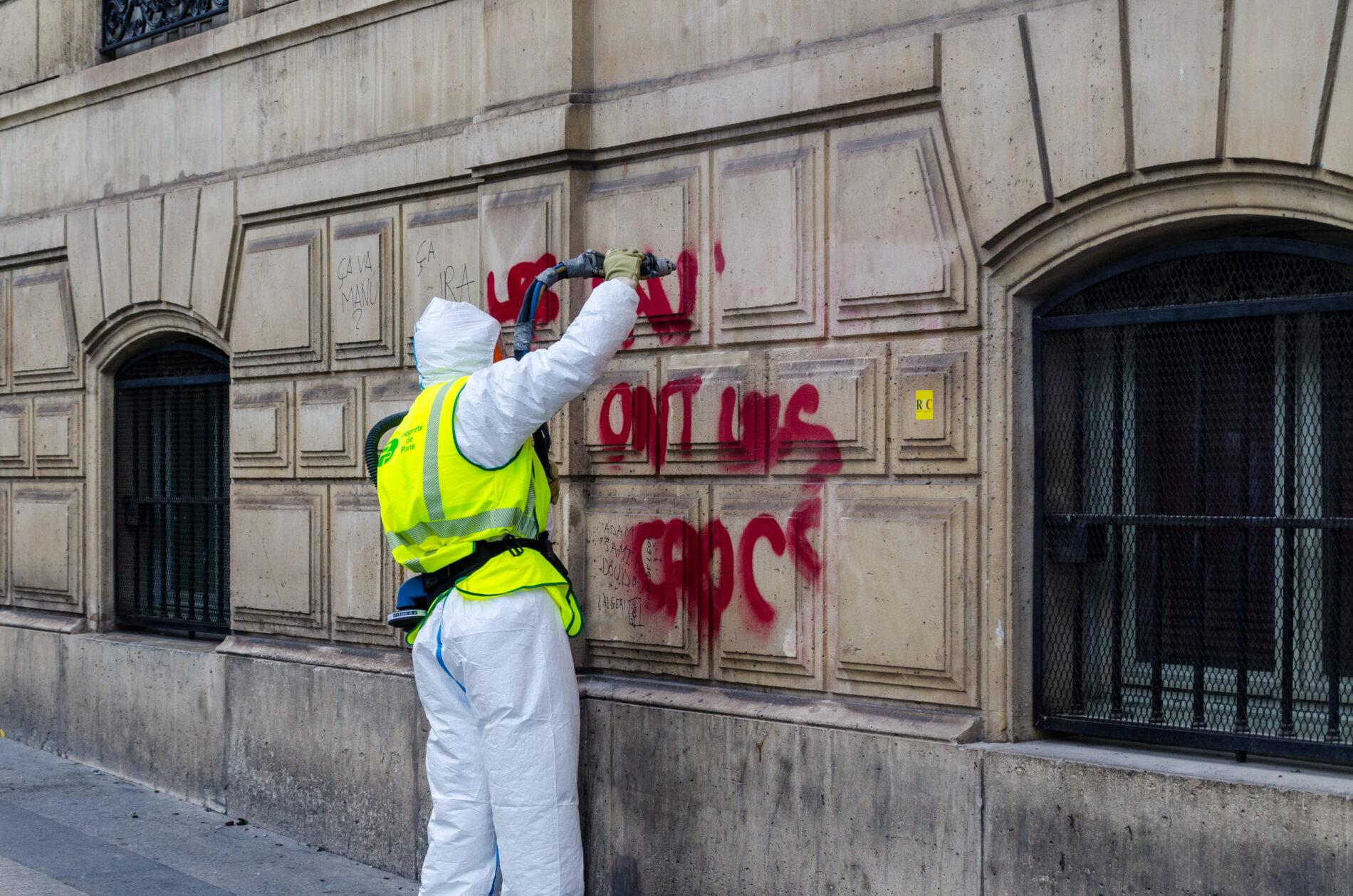 Graffiti Removal Building