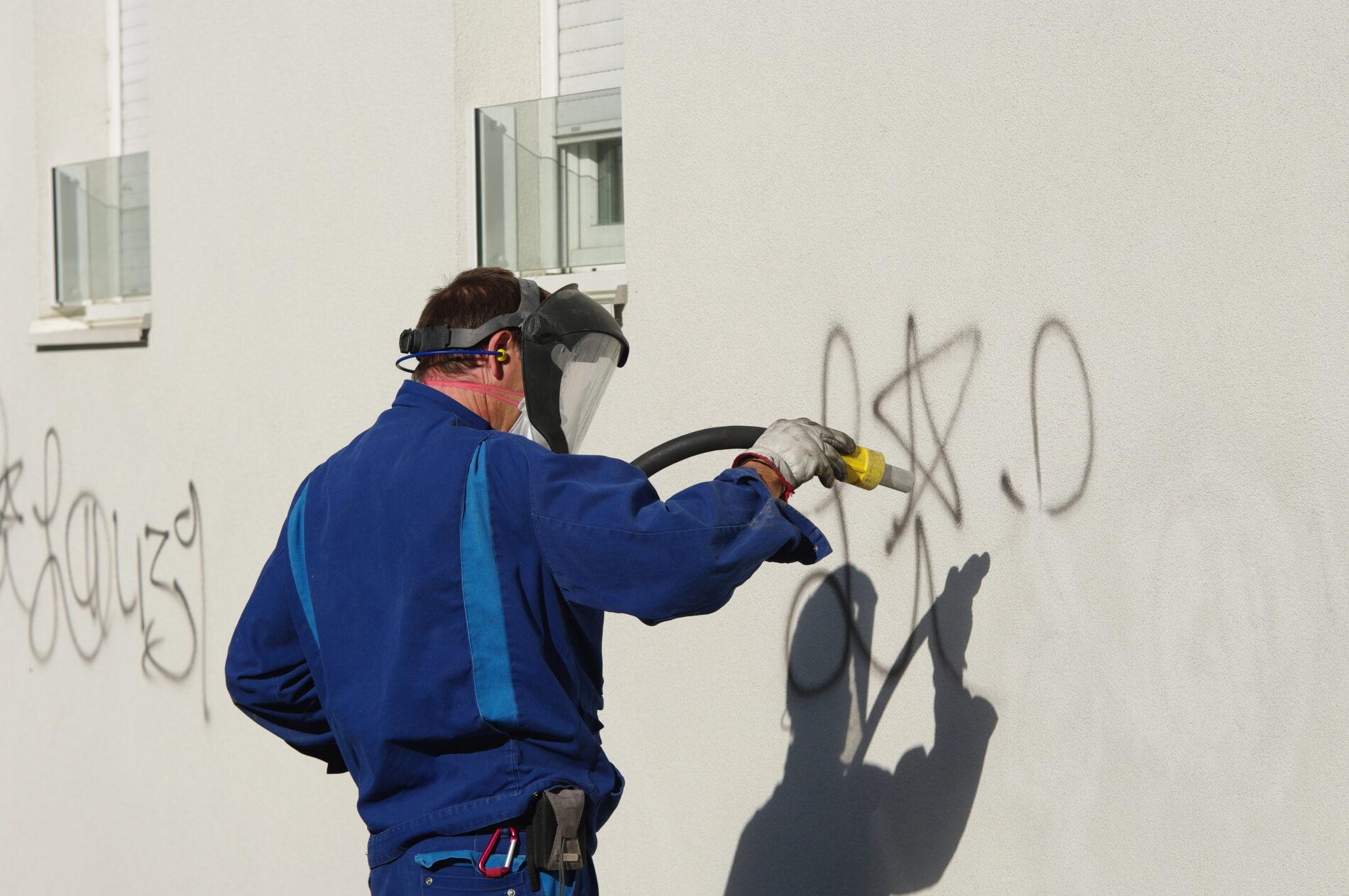 Graffiti Removal Pressure Clean