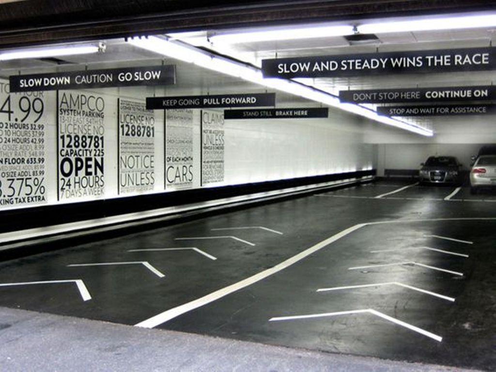 Parking Lot Garage Cleaning Banner