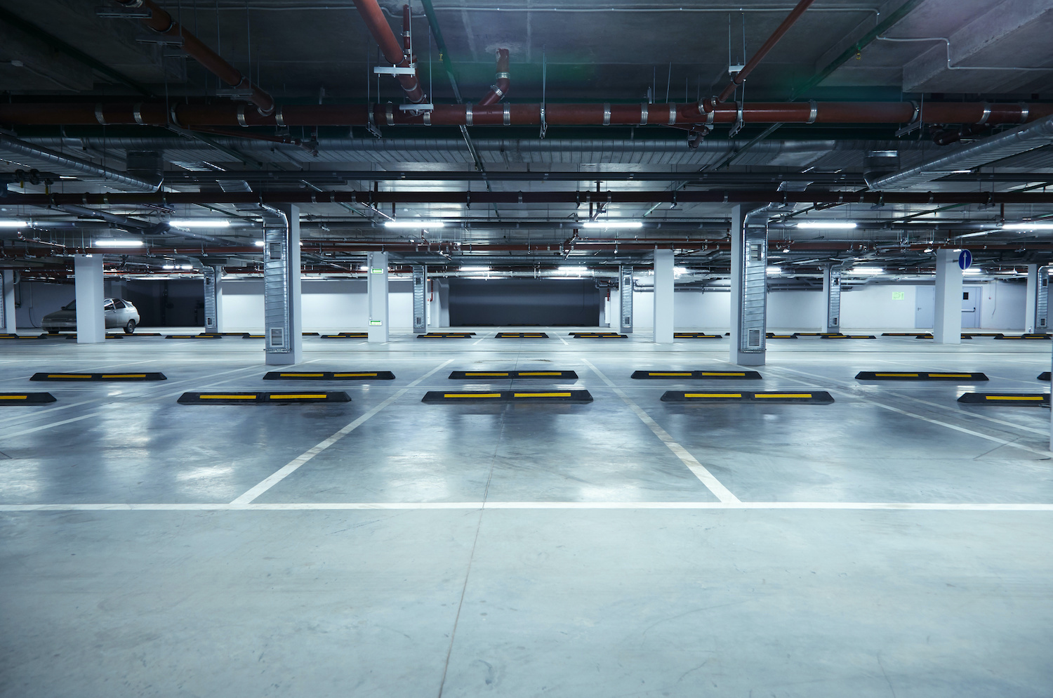 Parking Lot Garage Cleaning Spaces