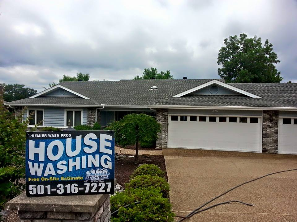 roof cleaning Hot Springs AR